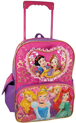Disney Princess Large Rolling Backpack