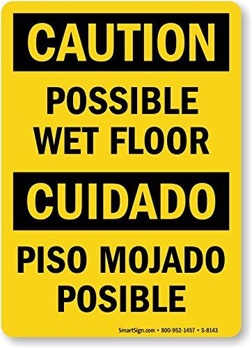Caution: Possible Wet Floor, Cud Ado, Engineer Grade Refl...
