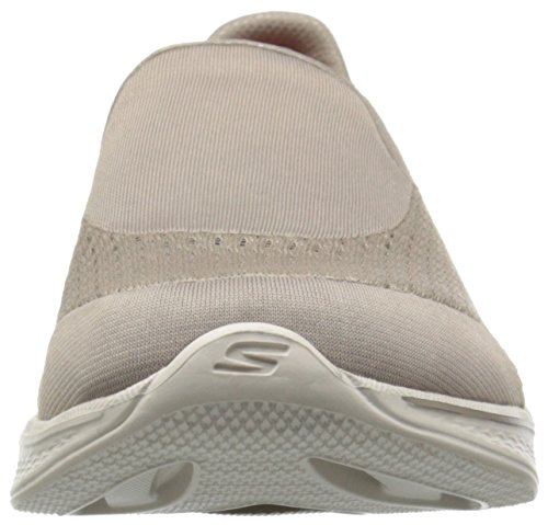 Skechers Damen Go Walk 4-pursuit Sneaker Beige (tpe)