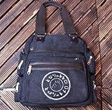 Studio Ghibli My Neighbor Totoro Canvas Shoulder Bag Handbag New Design–Black, Bags Central