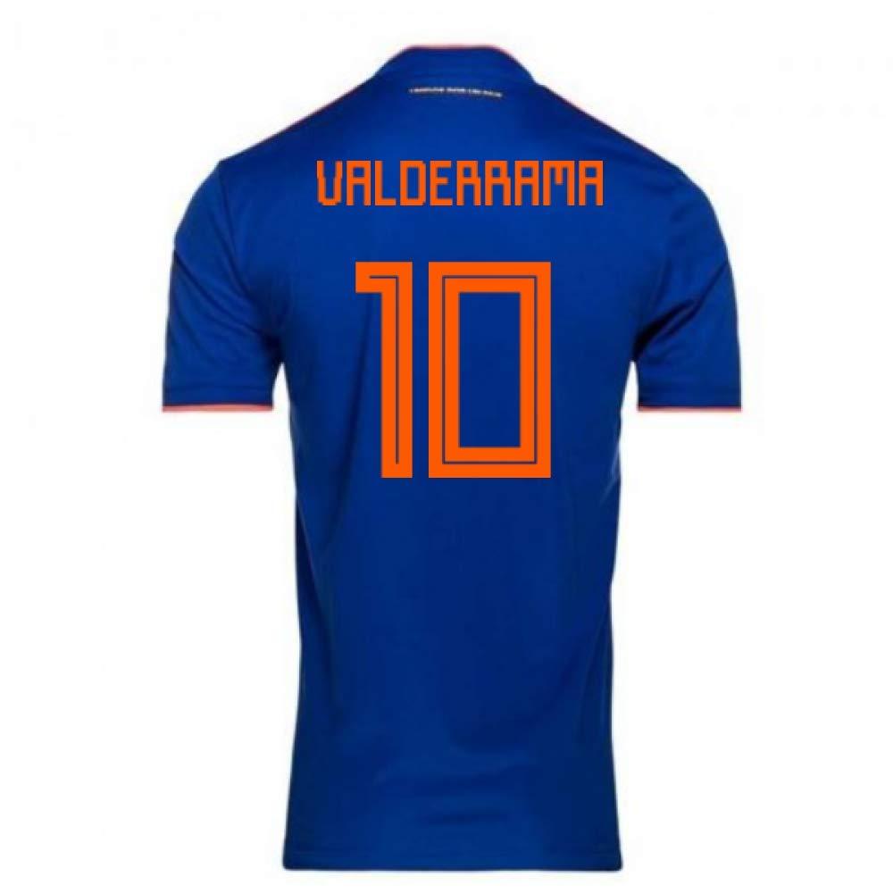 【送料無料/新品】 2018-2019 Colombia XS Away Adidas Football Shirt (Carlos Shirt Valderrama 34-36