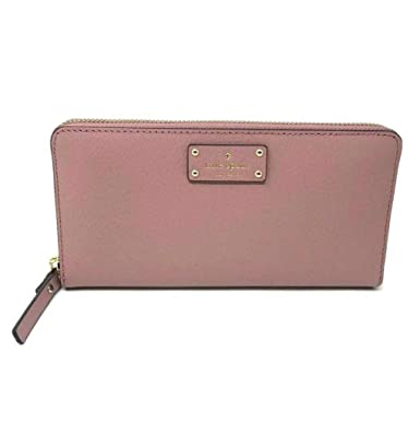 f46abdce88477 Image Unavailable. Image not available for. Color  Kate Spade New York Neda Grove  Street Leather Zip Around Wallet ...