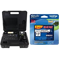 Brother PT-D600VP and TZe231 2-pack of Tape