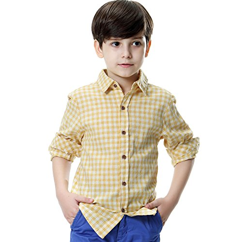 Plaid Boys T-Shirt - 5