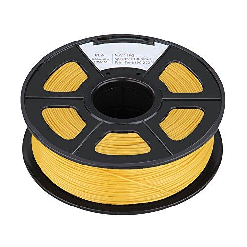3D Printer Filament - SODIAL(R) PLA 1KG 1.75mm Rep...