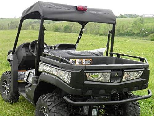 850d 855d 2010-2014 John Deere Gator HPX//XUV 620i 825i GCL Soft Top Onyx Black Fits 625i