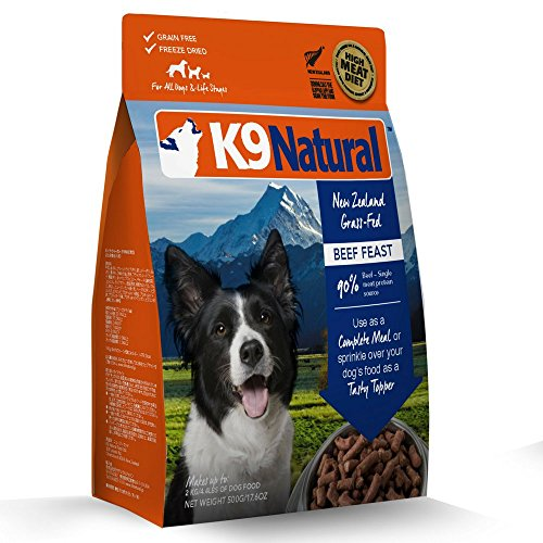 K9 Natural/Feline Natural Freeze Dried Pet Food, 1.1-Pound, Beef