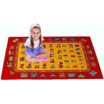 This item Kids Rug ABC Fun Area Rug 3  x 5  Children Area Rug for Playroom    Nursery   Non Skid Gel Backing 39  x 58. Amazon com  Kids Rug ABC Fun Area Rug 3  x 5  Children Area Rug