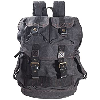 Amazon.com: DRF Canvas Camera Backpack Unisex with Camera