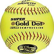 """Worth SYCO Super Gold Dot W00514761 Softball 12"""" 44/400, Y"""