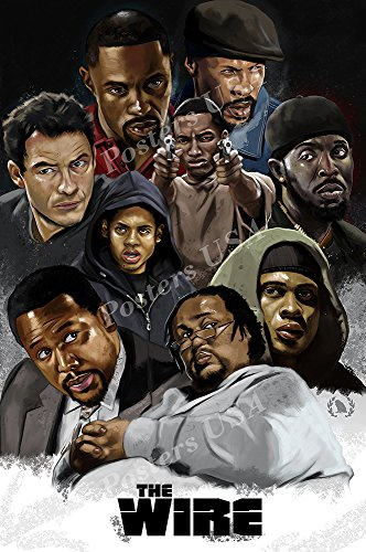 Posters USA - The Wire TV Series Show Poster GLOSSY FINISH - TVS417 (24