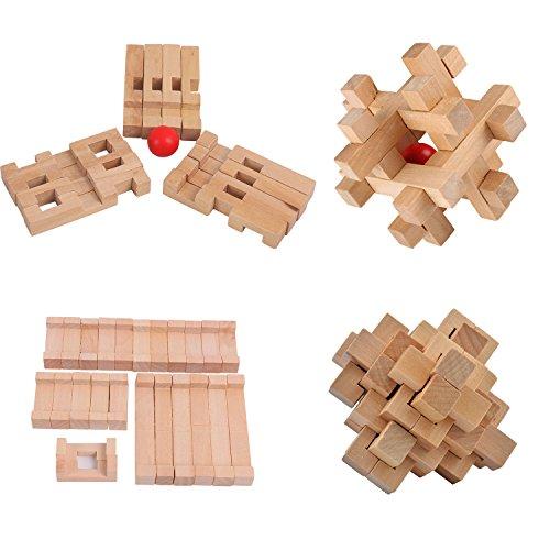 Review ULT-unite3D Wooden Cube Brain
