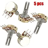 5x potentiometre B10K 10K ohm Simple lineaire Conique rotatif