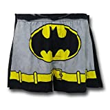 Batman Dark Grey Caped Boxer Shorts- Medium