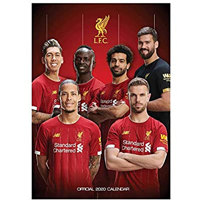 Liverpool Official FC (Premier League) 2020 Soccer Calendar