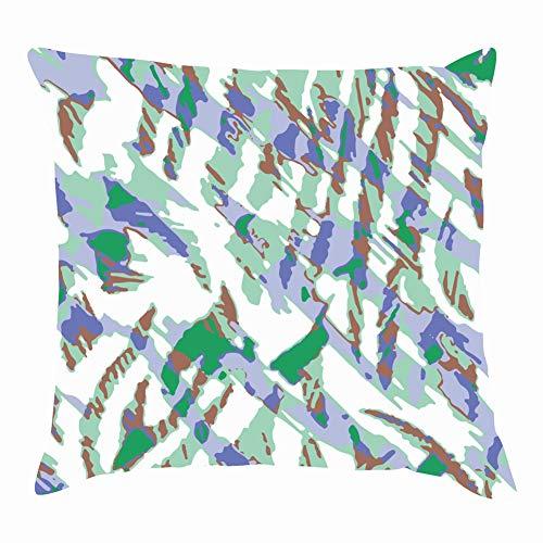 Throw Pillow Covers Leopard kiss Print Lipstick Fashion Animals Wildlife Beauty Decorative Cushion Case for Sofa Bedroom Car 18 X 18 Inch 45 X 45 -