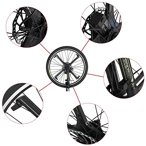 LED Bicycle Wheel Lights, Bluetooth Bike Waterproof Decorative Light Kit With Battery by VGEBY (Image #4)