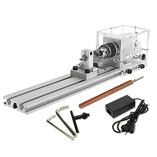Raitool 80W Dc 24V Mini Lathe Beads Machine Woodworking by NDBD
