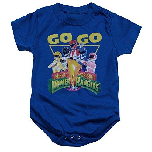 Power Ranger Bodysuit (Infant Power Rangers Go Go Infant Onesie Size 6)