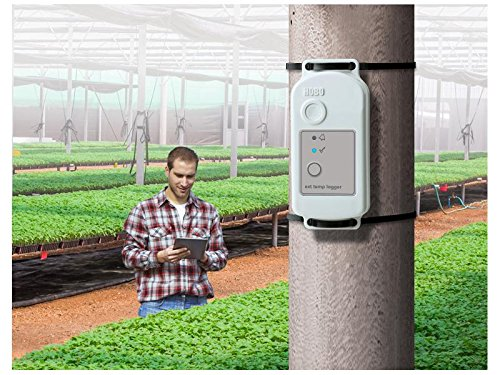 Onset HOBO MX2302 Weatherproof Bluetooth Temperature and Humidity Data Logger w/ External Sensor