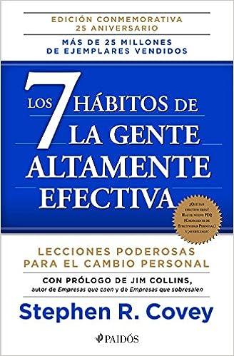 LIBROS DESARROLLO PERSONAL 7 HABITOS DE GENTE ALTAMENTE EFECTIVA