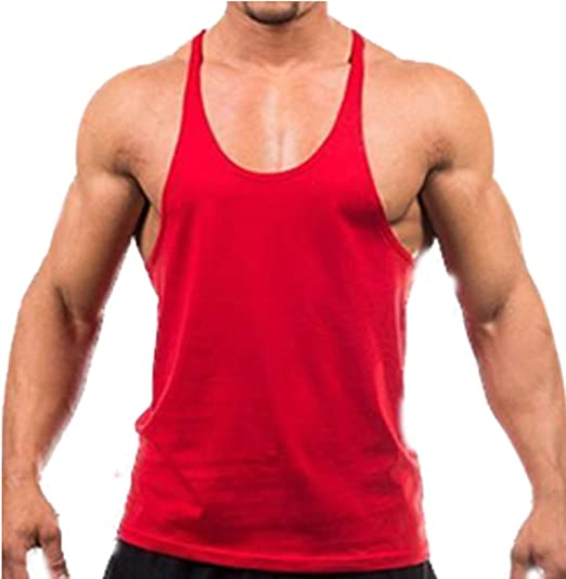 Gym Singlets WORK FOR IT Gym Rabbit TankTop Bodybuilding Stringer Fitness c747