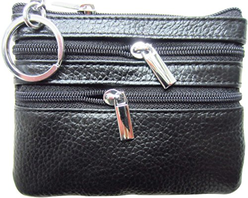 Purse Keychain Womens Leather Pouch Wallet product image