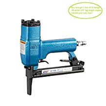 meite 8016BL Upholstery Stapler--21 Gauge 1/2-Inch Crown 1/4-Inch to 5/8-Inch Pneumatic Long Nose Stapler Fine Wire Stapler Upholstery Stapler