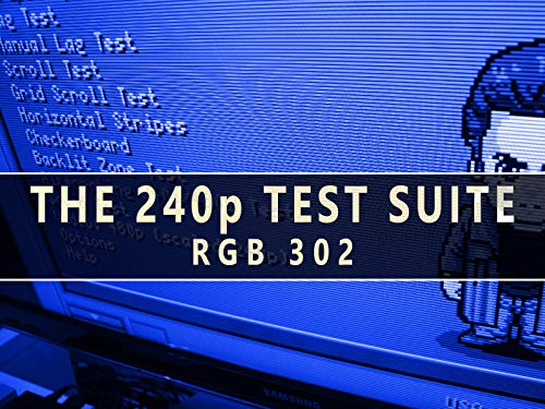 (RGB302 :: The 240p Test Suite - Optimize Your HDTV for Retro Games)
