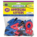 TEACHER CREATED RESOURCES MAGNETIC FOAM UPPERCASE LETTERS (Set of 12)