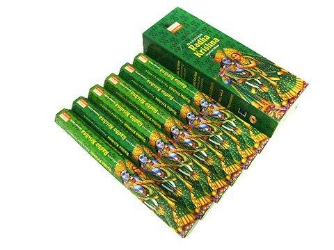Radha Krishna - 120 Sticks Box - Darshan Incense