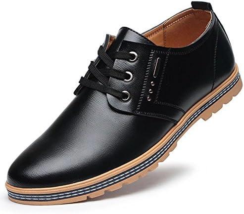 レースアップ カジュアルシューズ ワークブーツ革靴 メンズ 紳士靴 ウォーキング 軽量