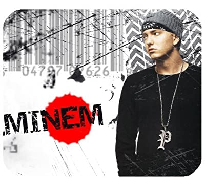 "Eminem Mousepad Personalized Custom Mouse Pad Oblong Shaped In 9.84""X7.87"" Gaming Mouse Pad/Mat"