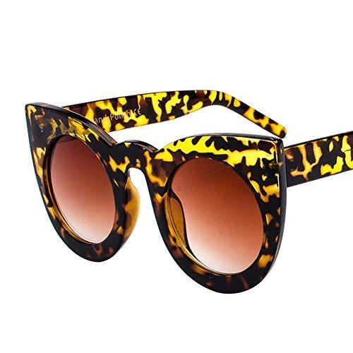 Aoligei L'Europe et l'États-Unis fashion réflectorisé personnalité de lunettes de soleil cool Big Box conduit Chao lunettes de soleil yKgJsl