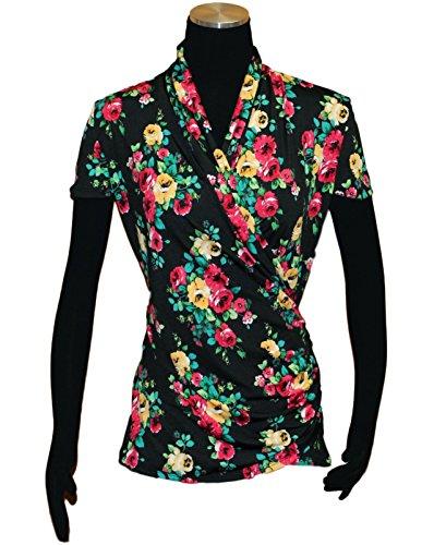 Linda Leal Surplus Printed Knit Top (Womens Printed Knit)