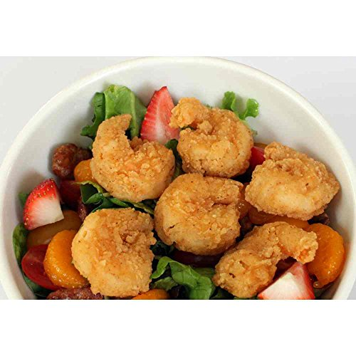 - Mariner Jack 21/25 Chef Dusted Round Tail Off Shrimp, 3 Pound -- 4 per case.