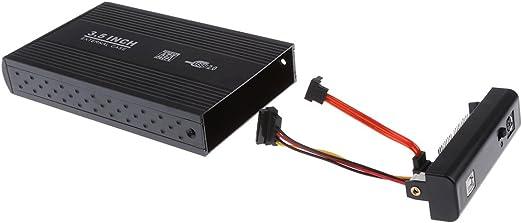 USB2.0 ハード ディスク ドライブ ケース 3.5インチ HDD エンクロージャ ブラック
