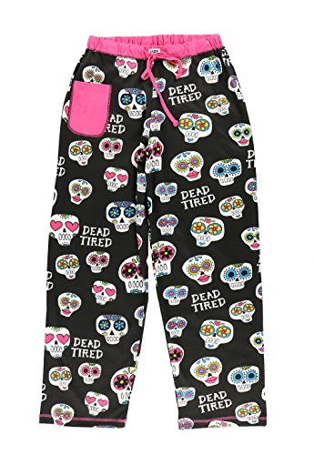 Dead Tired Women's Pajama Pants Bottom by LazyOne | Pajama Bottom for Women -