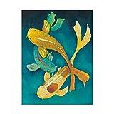 Trademark Fine Art WAG05428-C2432GG Glass Sea I by June Erica Vess, 24x32,