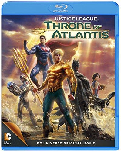 Animation - Justice League: Throne Of Atlantis [Japan BD] 10005-77928