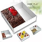 Product review for Cake Pan, Baking Sheet Pan, Bakeware Set, Multi-size DIY,Aluminium 12x12x4 Inches