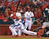 #4: Autographed Harrison Bader Photo - 8x10 W coa - Autographed MLB Photos
