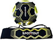 Sportout Kick Trainer, Soccer Training Aid, Perfect for Soccer Skills Improvement,Fit for Balls Size 3 4 5, Ki