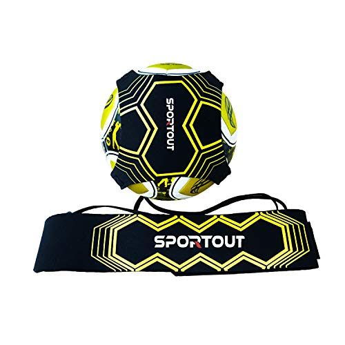 Sportout Kick Trainer, Soccer Training Aid, Perfect for Soccer Skills Improvement,Fit for Balls Size 3 4 5, Kids and -