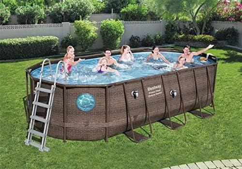 Bestway Piscina Swim Vista Pool Oval 5.49 X 2.74 Altura 1.22 m ...