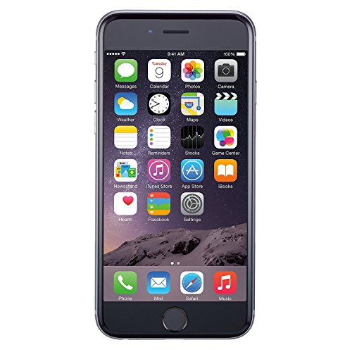 Apple iPhone 6 Plus, GSM Unlocked, 16GB - Space Gray (Renewed)