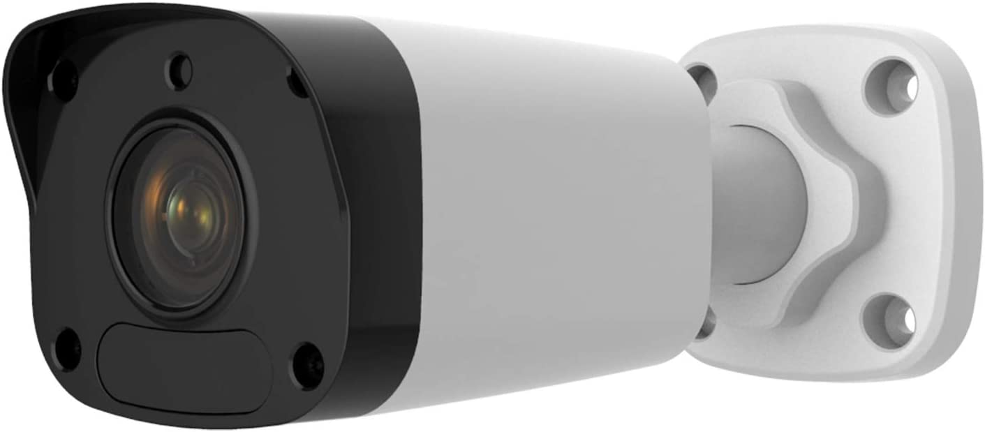 Anpviz 5MP POE IP Bullet Camera Wide Angle 75 Indoor Outdoor, Onvif Compliant with Hikvision, Dahua, Unview Security Camera, 98FT IR Night Vision IP66 Weatherproof Video Surveillance Camera IPC-B150