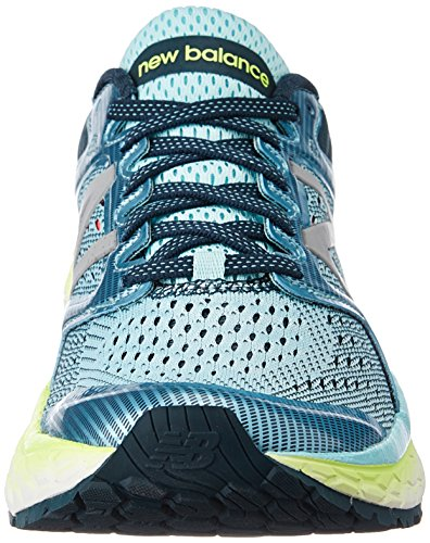 New Glow 1080v7 Foam Lime Shoe Ozone Women's Glow Running Blue Fresh Balance rwa1nPqIr