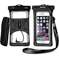 Vansky Floatable Waterproof Dry Bag Cellphone Case with Armband