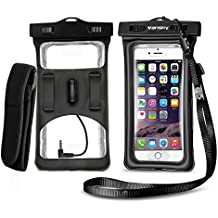 Vansky Floatable Waterproof Phone Case, Waterproof Phone Pouch Dry Bag with Armband and Audio Jack for iPhone X, 8 Plus, 8, 7 Plus, 7, 6s, 6, Andriod TPU Construction IPX8 Certified